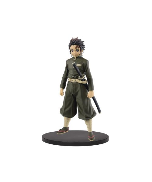 From the hit anime and manga series Kimetsu no Yaiba comes the 7th wave of figures by Banpresto, featuring the Demon Hunter Tanjiro Kamado! This figure stands about 18 cm tall and features Tanjiro wearing his Demon Slayer uniform.
