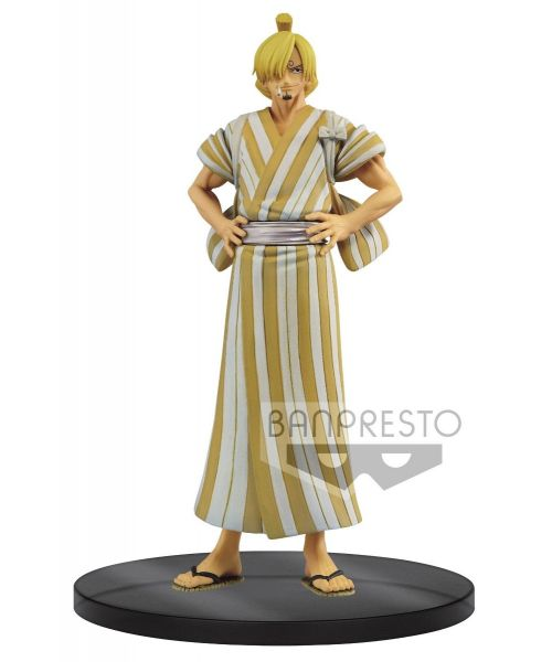 One Piece Dxf - The Grandline Men - Wanokuni Vol.5 - Sanji Sanji from the popular anime One Piece is beautifully crafted in this figure released by Banpresto. Add him to your collection today!