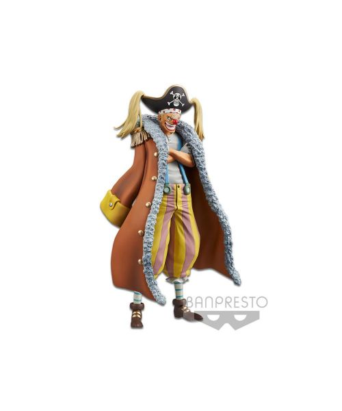 Buggy the clown joins the DXF range from Banpresto, depicted in his role in the One Piece Stampede movie! Add him to your collection today!