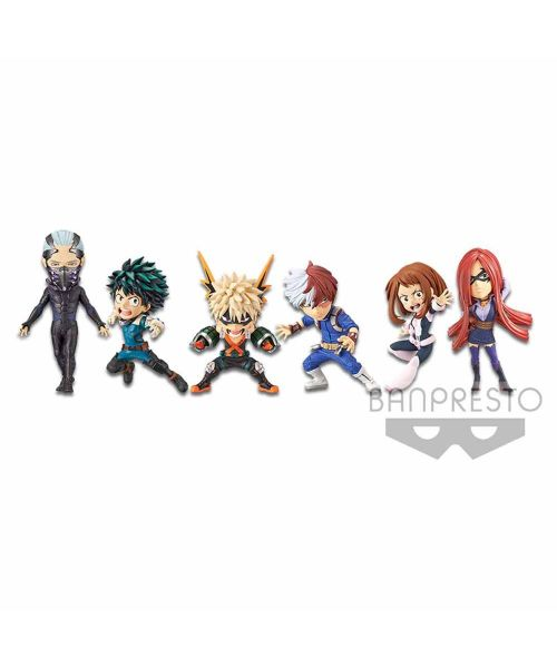 My Hero Academia - The Movie - Heroes:Rising - World Collectable Figure Full Set